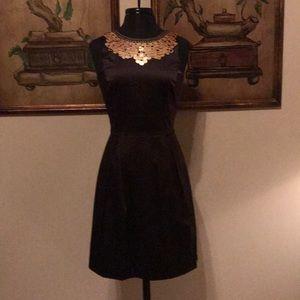 Antonio Melani chocolate brown dress size 4 NWT